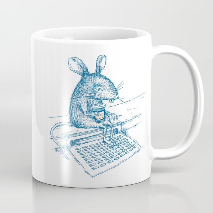 Cup O' Coffee NYC_rat Mug