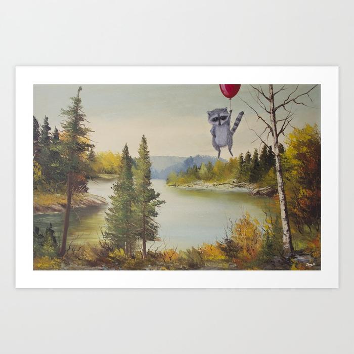 One Luftballoon Art Print