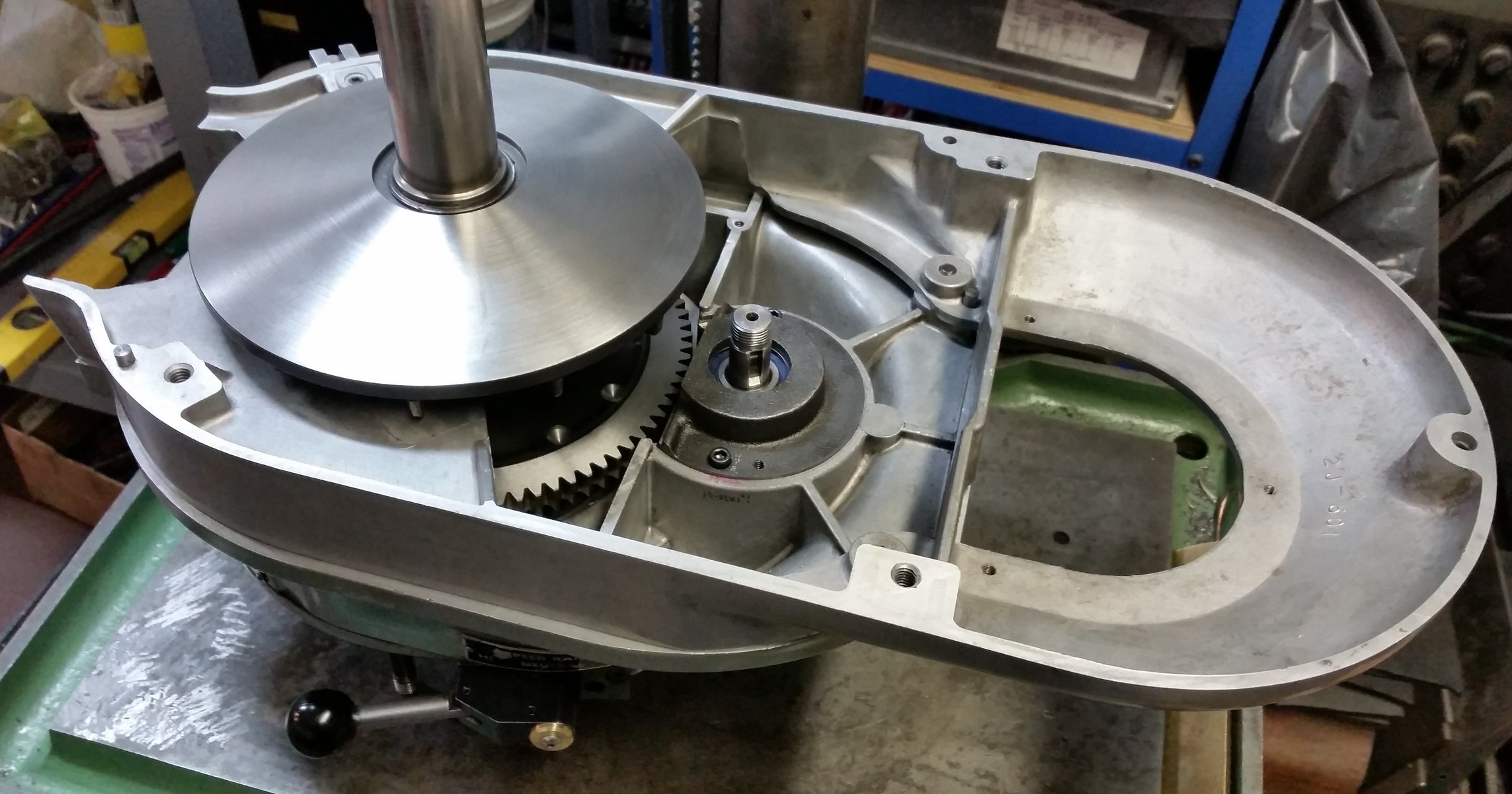 NEW Speed Change Plate for Bridgeport Milling Mill