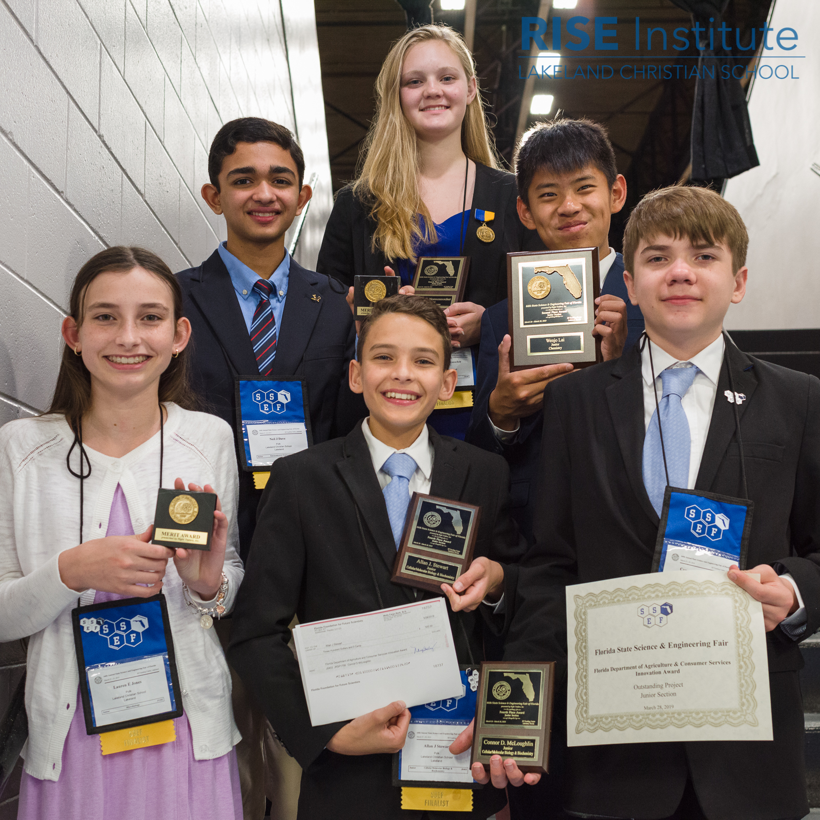 State Science and Engineering Fair Awardees
