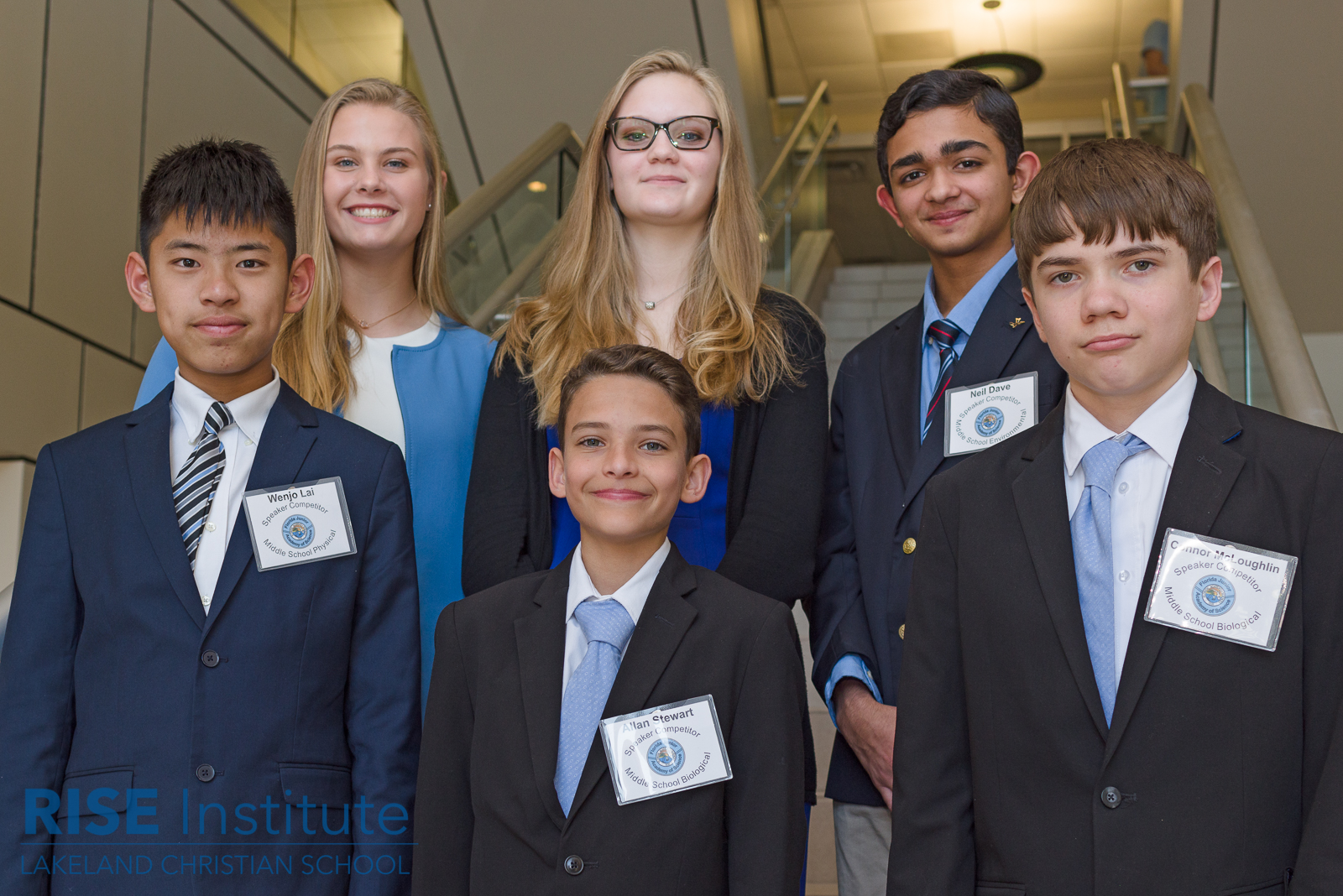 Research competition presenters at the Florida Junior Academy of Science