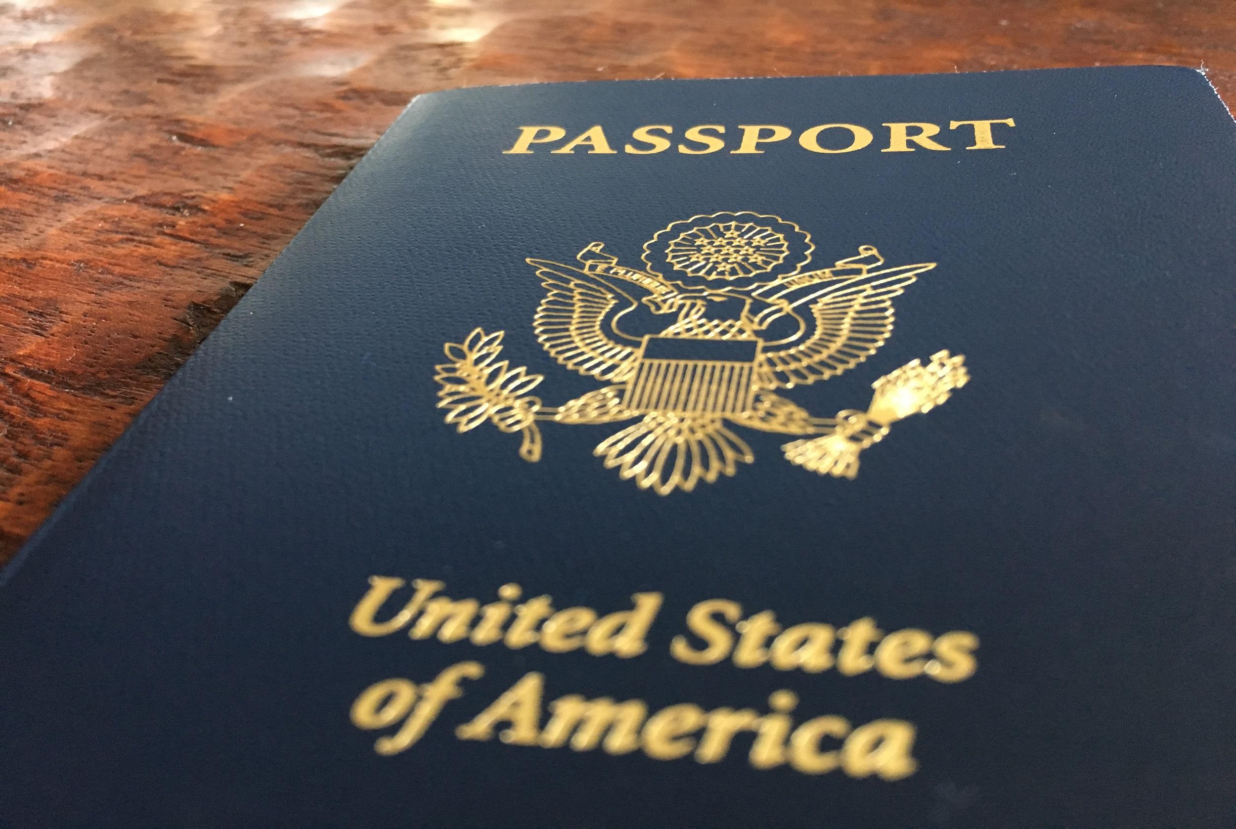 $400  Passport and student visa fees