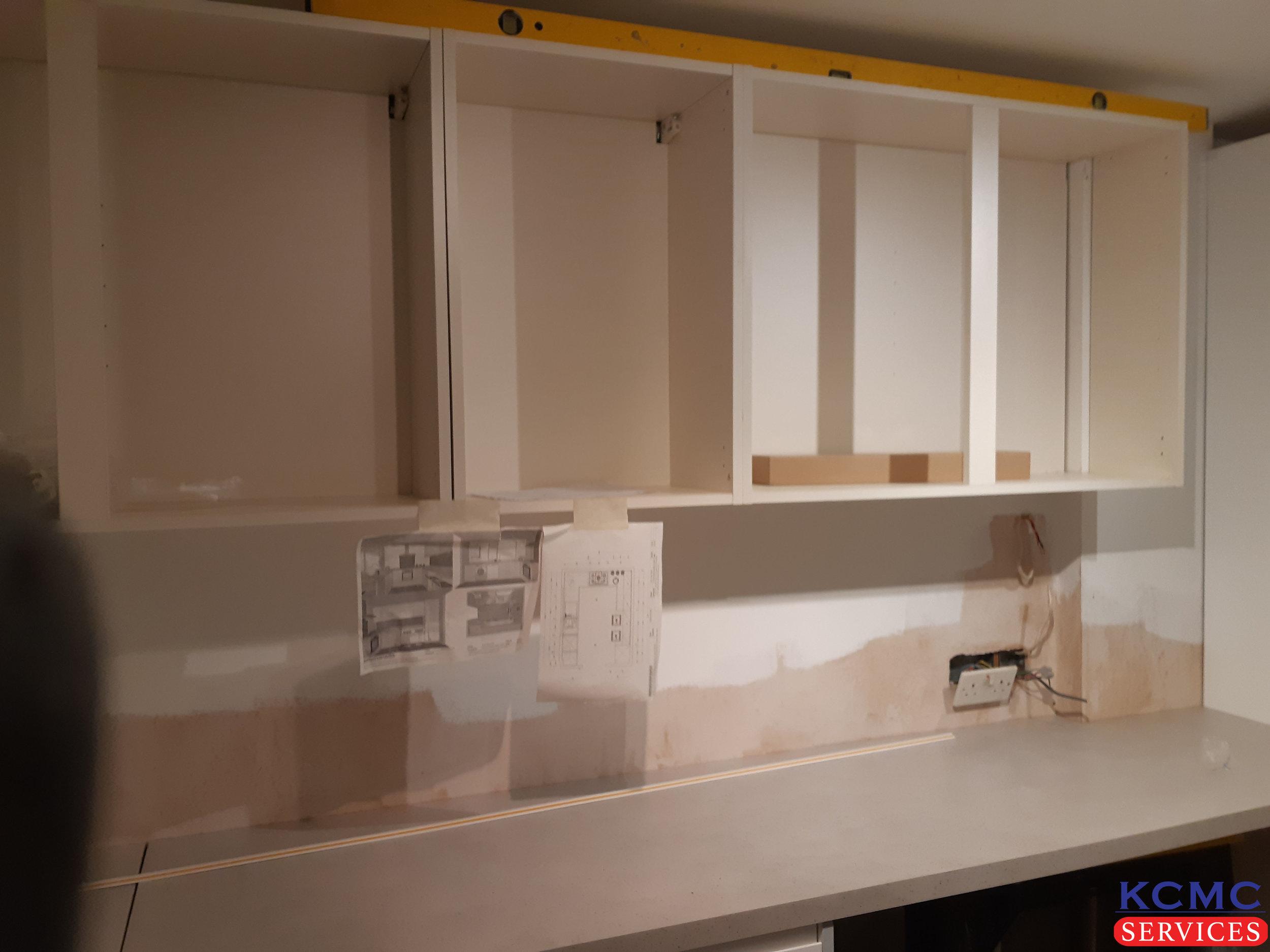 KCMC Services kitchen install