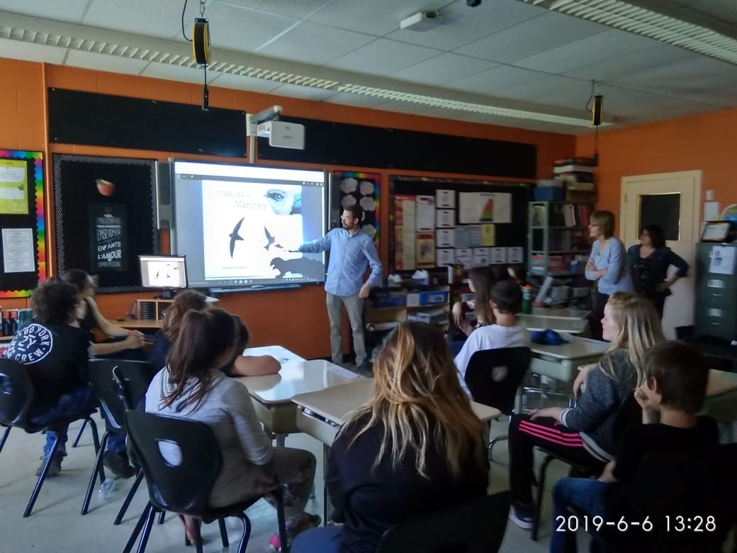 Ateliers de sensibilisation - École Marie-Immaculée à Latulipe