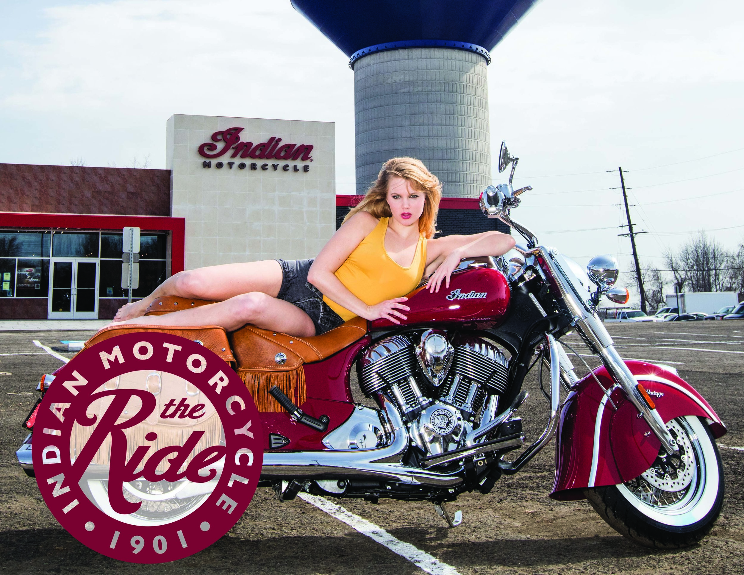 The Ride with Cosmo's Indian Motorcycle