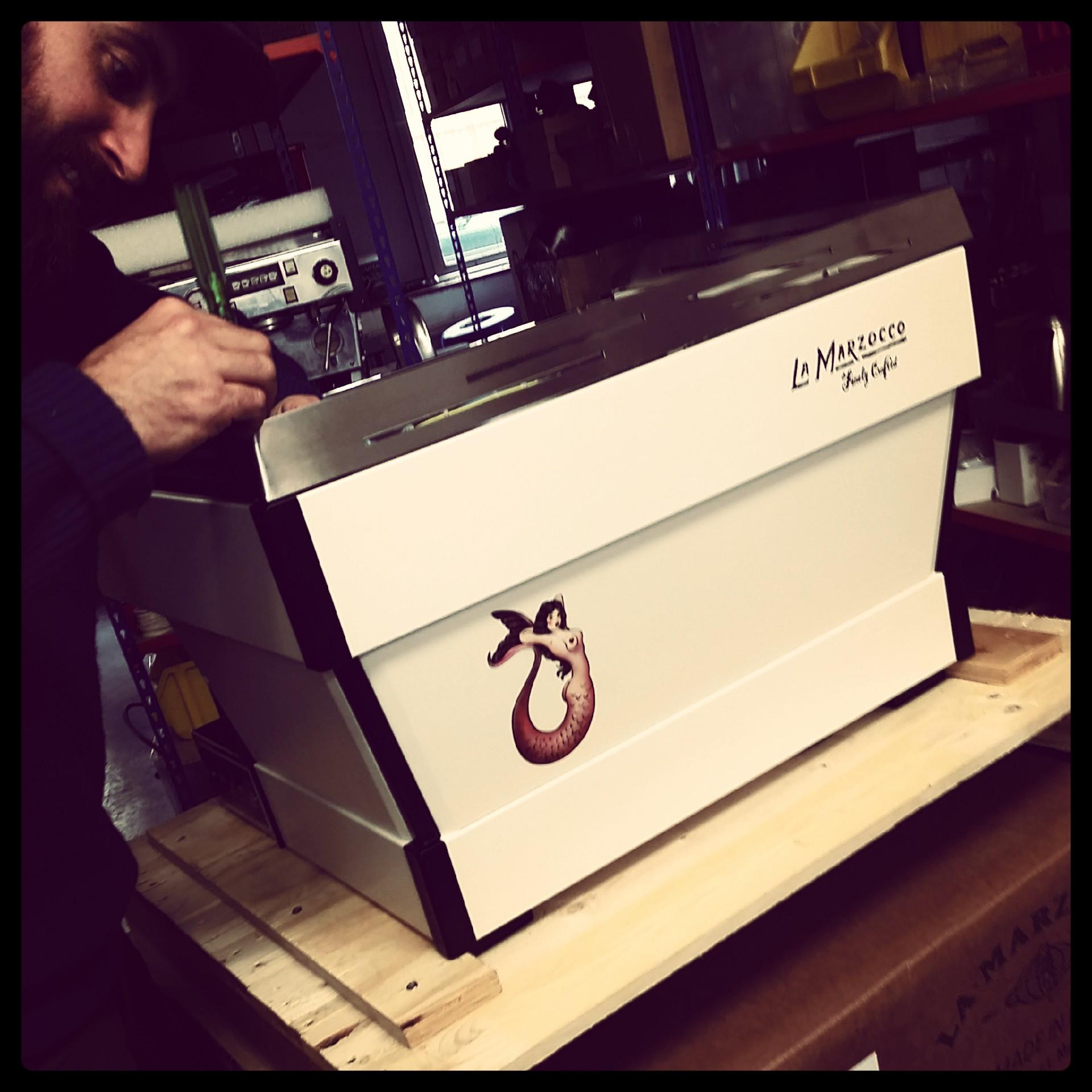 Kustom Espresso Machines