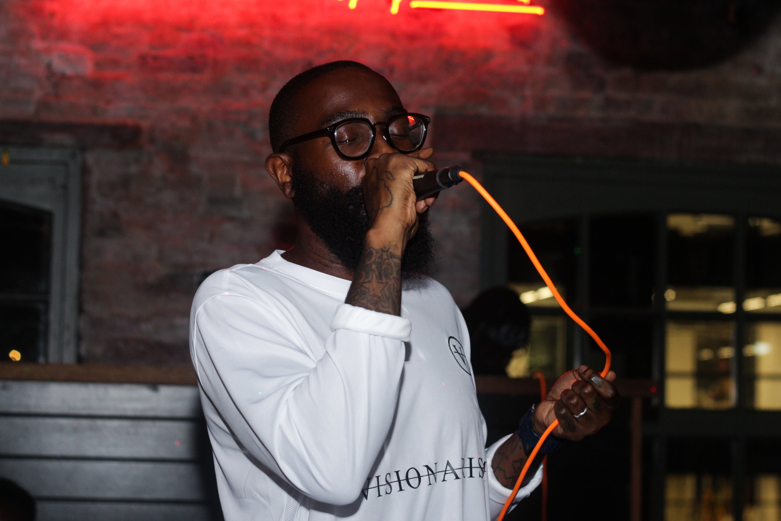 Our second event for Rebel Yell Bourbon was a GRM takeover that involved leading artist performances -