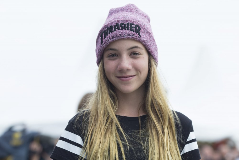 Brighton Zeuner - Over 40,000 fans on Facebook and the youngest ever female to win Gold at the X-Games.Brighton is 13 years old and already winning global competitions.She is ranked 65/30,000 in our database of skaters.