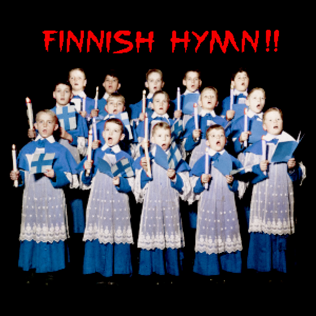 Finnish Hymn - A brilliant collaboration with Olly Moss