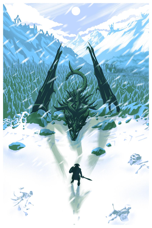Dragon Born (Blue)