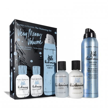 """Bumble and bumble Thickening """"Very Merry Volume"""" Set   """"This lightweight shampoo instantly preps hair for airy, voluminous styles.""""   Valued at 53 dollars, this set is being sold for 29 dollars!"""
