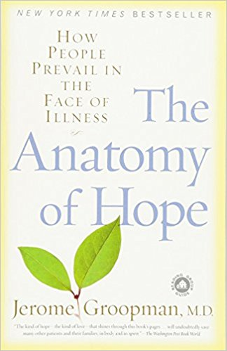 """The search for hope is the most urgent at a patient's bedside and Groopman takes us into the lives of people at pivotal moments when they reach for and find hope—or when it eludes their grasp. Groopman, a Harvard Medical School professor and New Yorker staff writer says """"I see hope at the very heart of healing."""""""