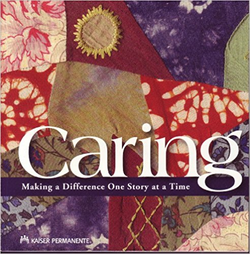 This is a wonderful collection of stories put together by a wide variety of staff who work for Kaiser Permanente. The stories capture experiences which have both touched and transformed these providers and helped them understand the importance of listening, serving and understanding.