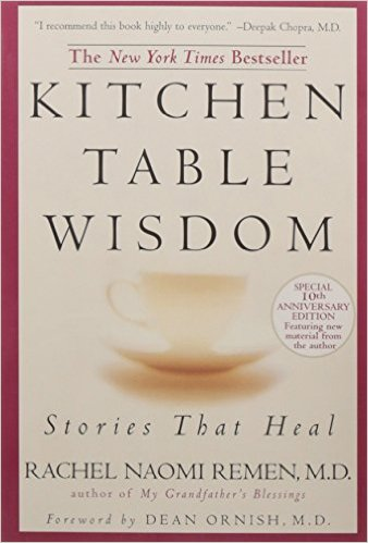 "This is a remarkable collection of true stories from the tradition of 'kitchen table wisdom' – the human tradition of shared experience that shows us life in all its power and mystery. Remen believes in the power of stories and says, ""Facts bring us to knowledge but stories bring us to wisdom."""