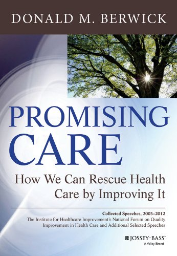 This book is a collection of Dr. Don Berwick's speeches, including all those given from 2003-2012 given to the annual National Forum on Quality Improvement in Health Care. Each piece, full of stories and provocative questions and ideas, is augmented by a commentary offered by a variety of thought leaders in healthcare.