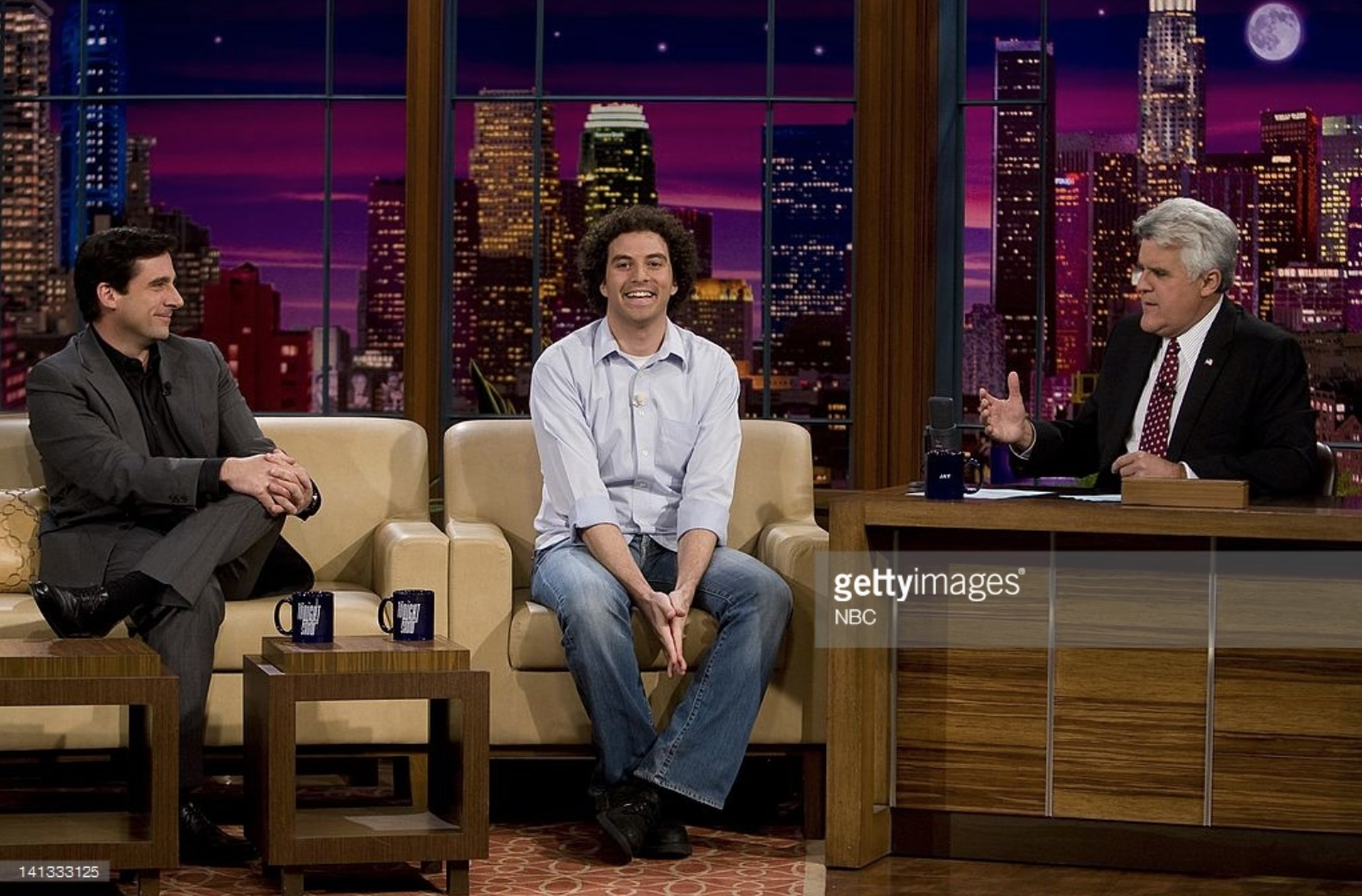 That time Joel was a guest on The Tonight Show with Jay Leno