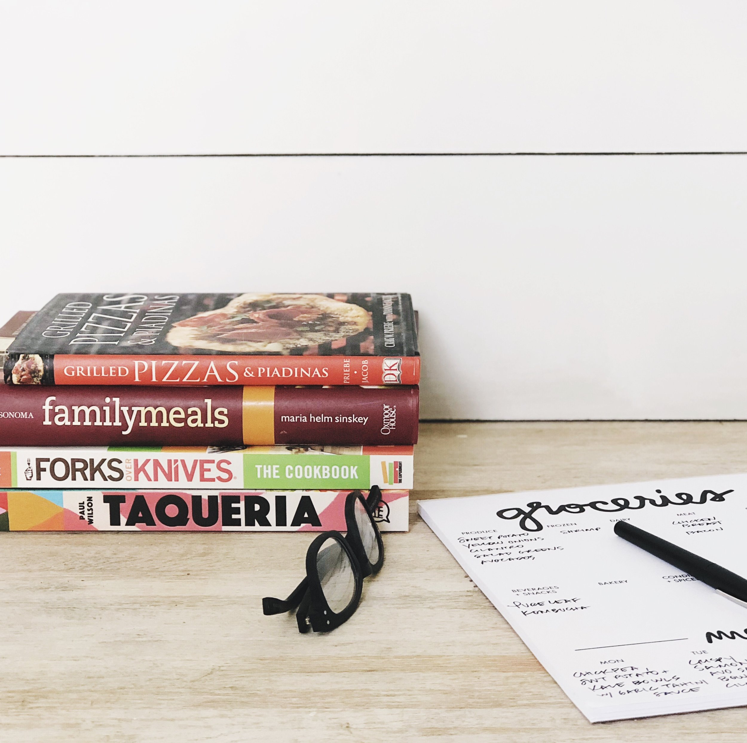 cookbooks...always a good source for inspo. I don't love to keep many on hand (only my favorites!). Don't forget about the library.