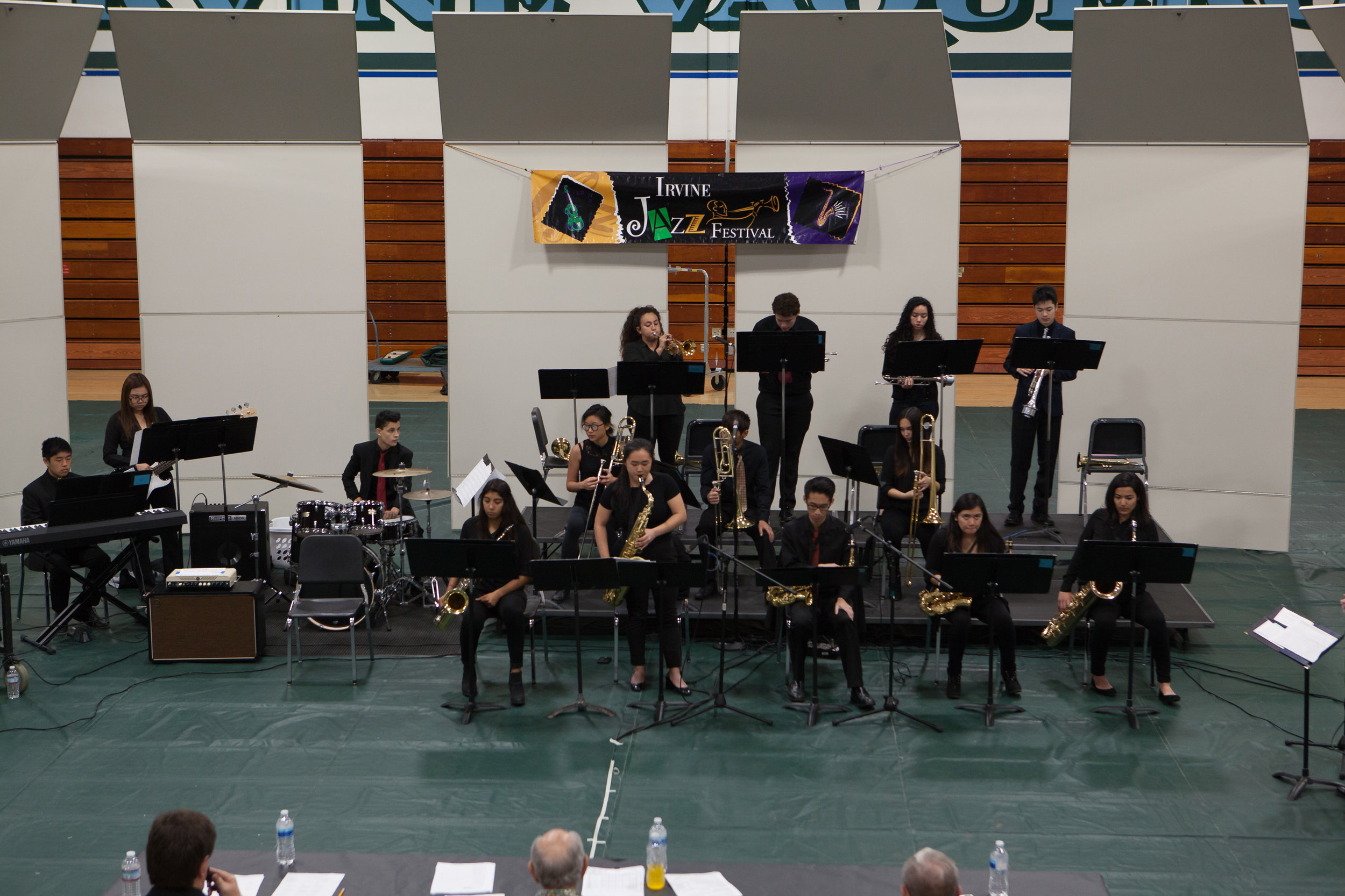 The Jazz Band @ Irvine H.S. Click image for more photos.