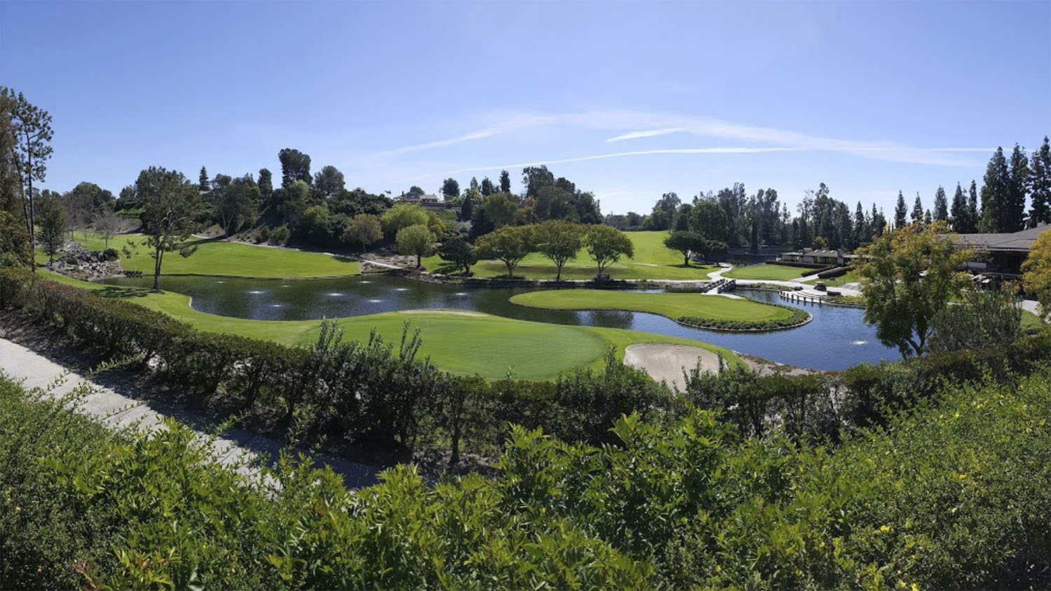 The scenic Friendly Hills Country Club