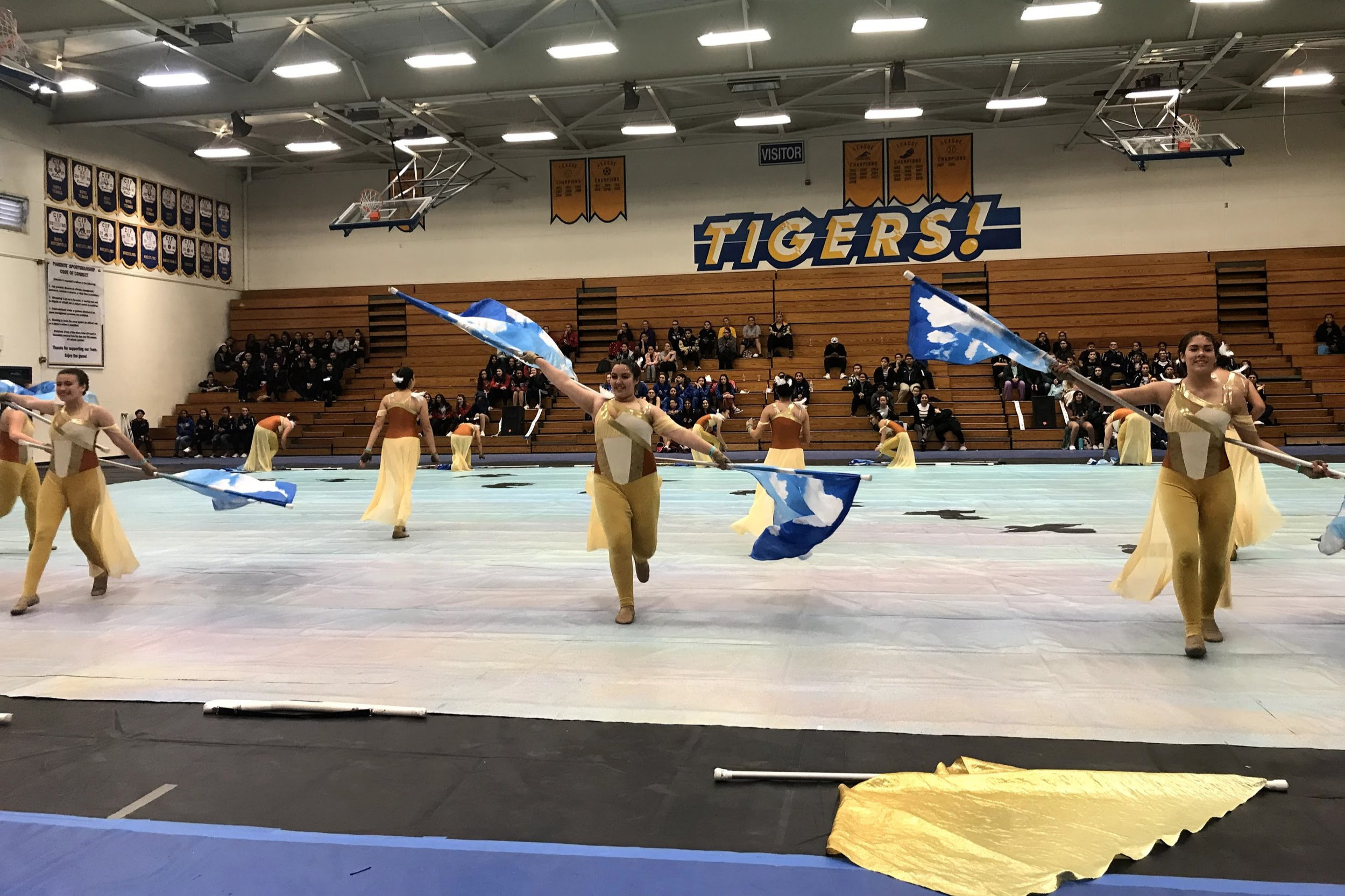 20190309 Winter Guard @ Valencia HS - byPeter Lu -