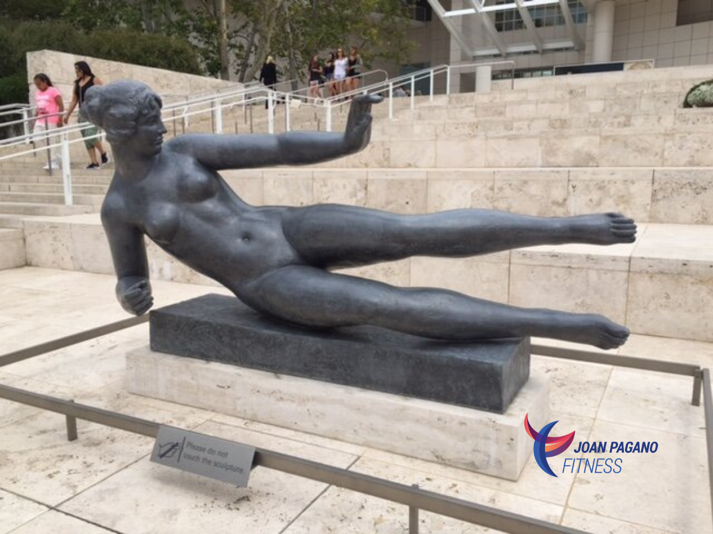 The Falling Woman by Aristide Maillol at the Getty Museum