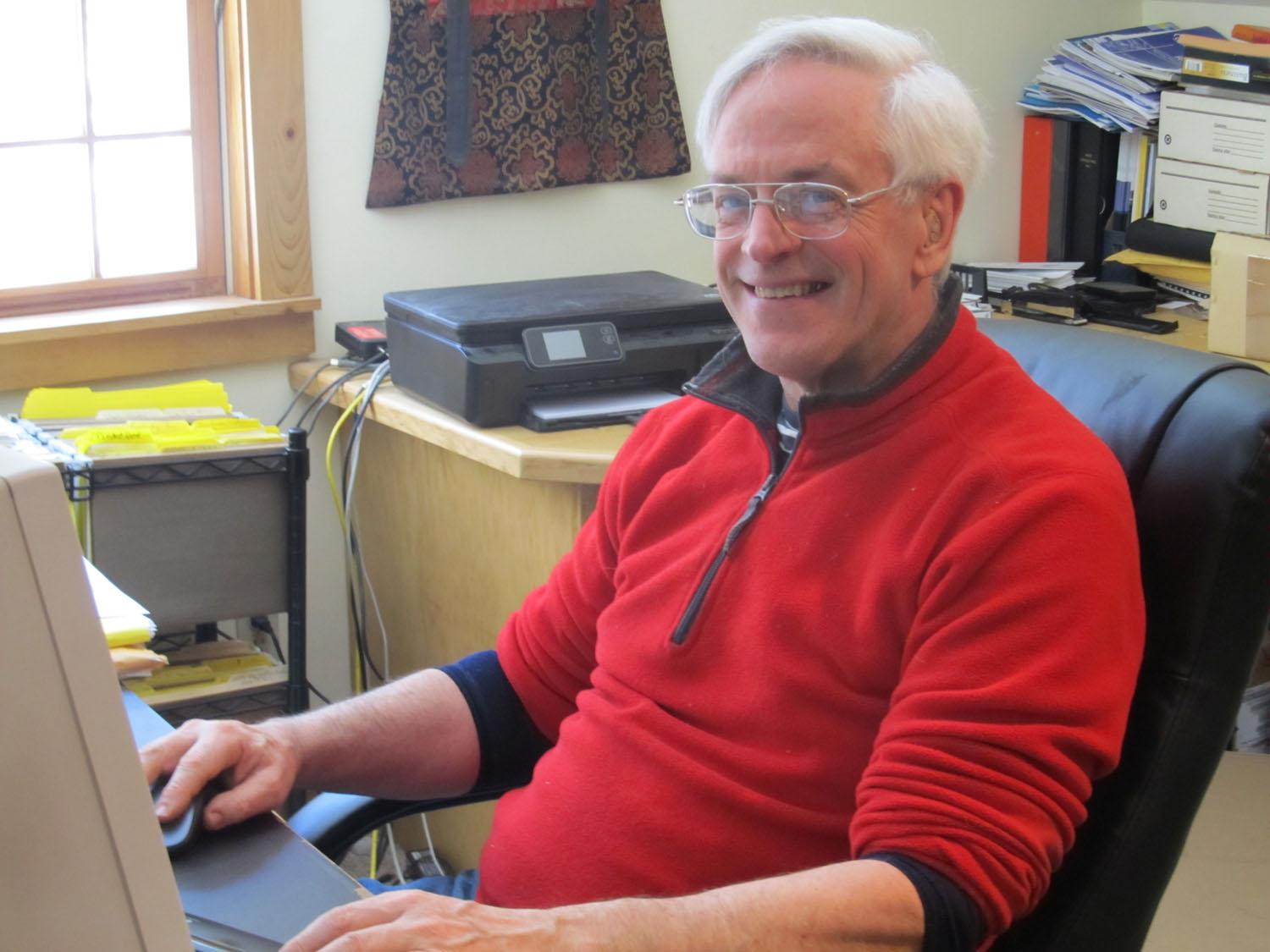 - There from the start, Peter helped get Woodfield Press up and running back in 2004 and still helps us behind the scenes today.