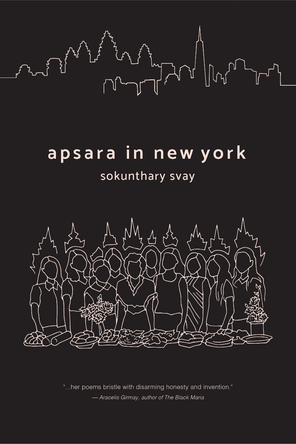 Contact for bookings and media inquiries. - Apsara in New York, Willow Books (2017)