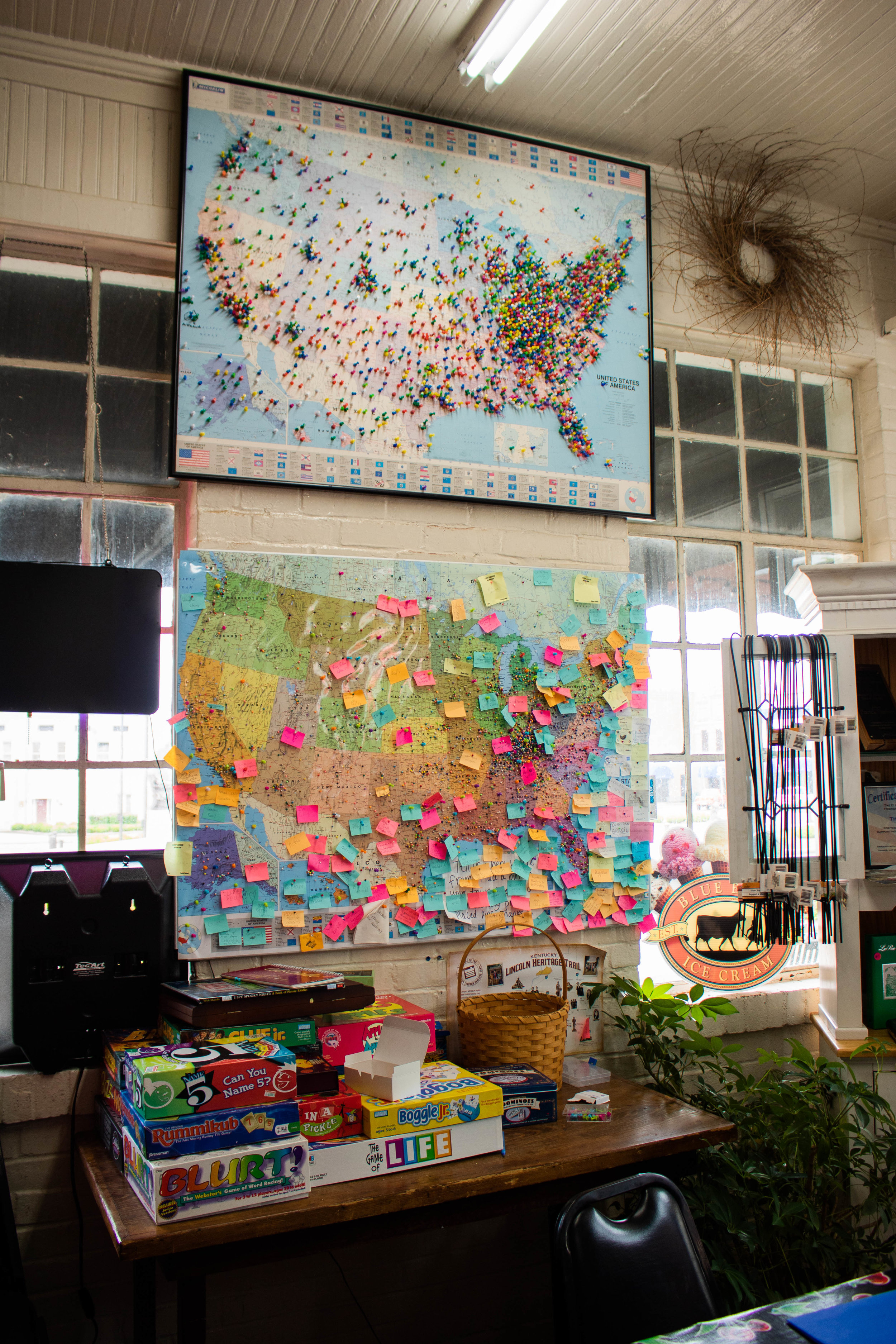 the sweet shoppe maps