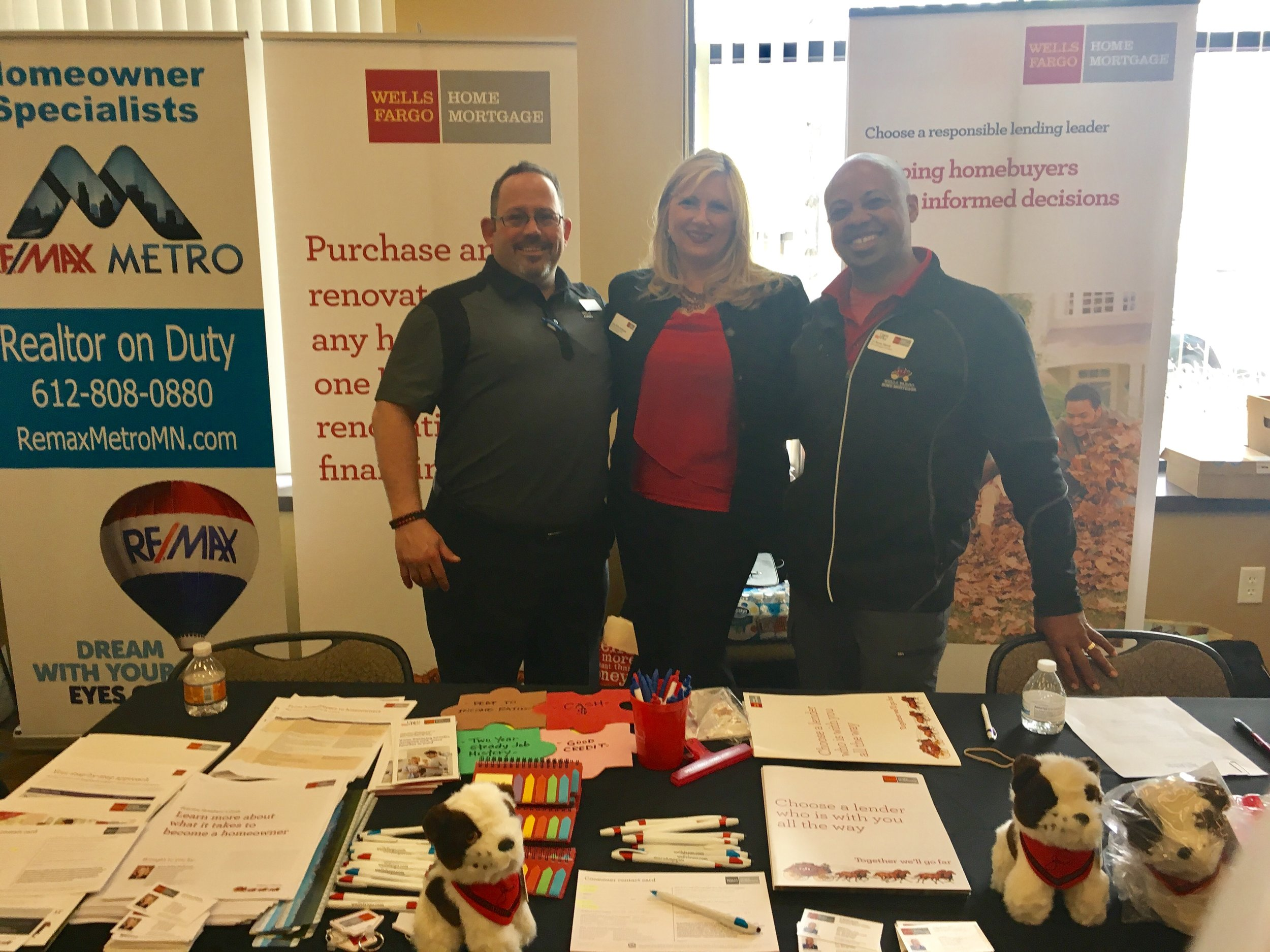 Friends from Wells Fargo Home Mortgage