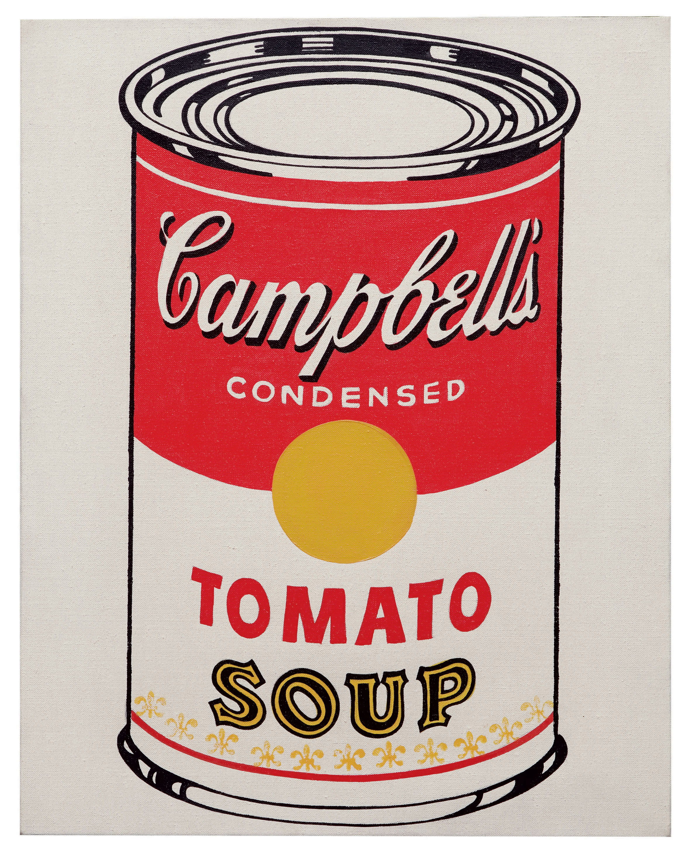Andy Warhol, Cambell's Soup Can (Tomato), 1928-1987