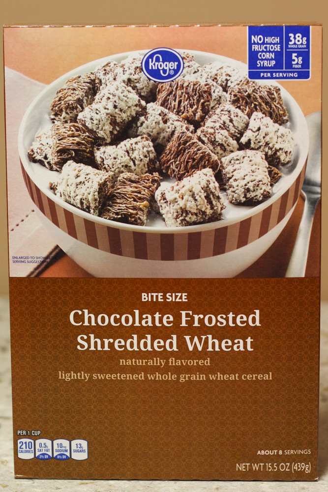 CHOCOLATE FROSTED SHREDDED WHEAT NATURALLY FLAVORED