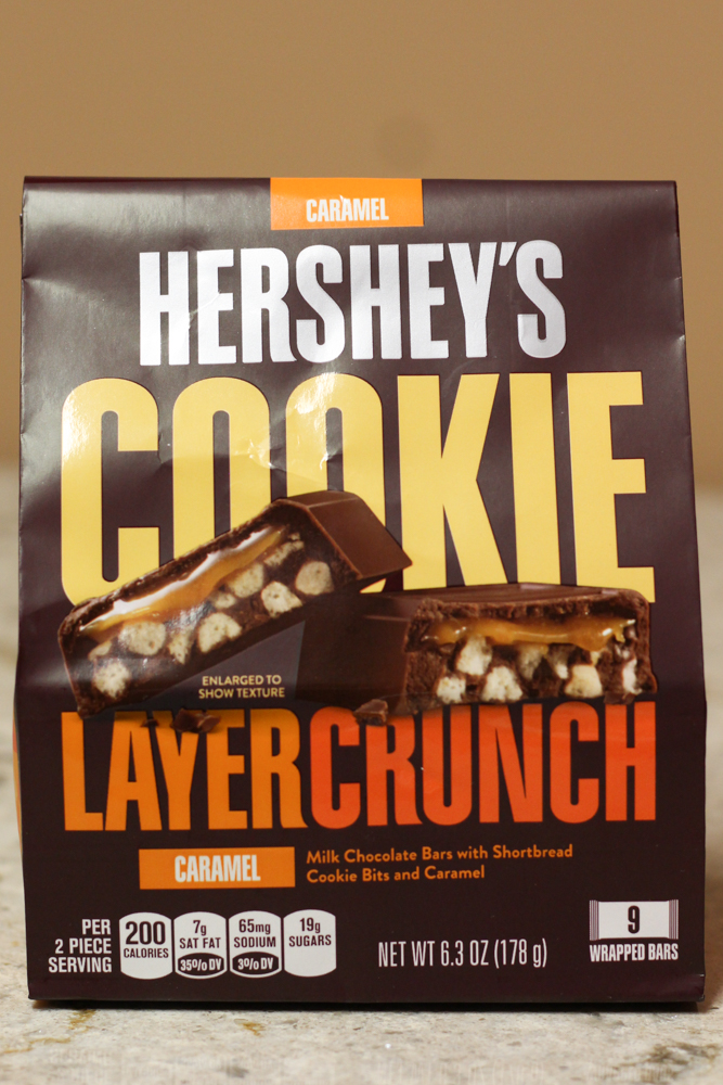 HERSHEY'S COOKIE LAYER CRUNCH CARAMEL  6.3oz -  $1.95    Compared to $4.38 at Walmart