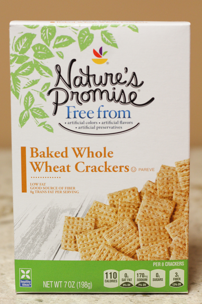 NATURE'S PROMISE BAKED WHOLE WHEAT CRACKERS 7 oz