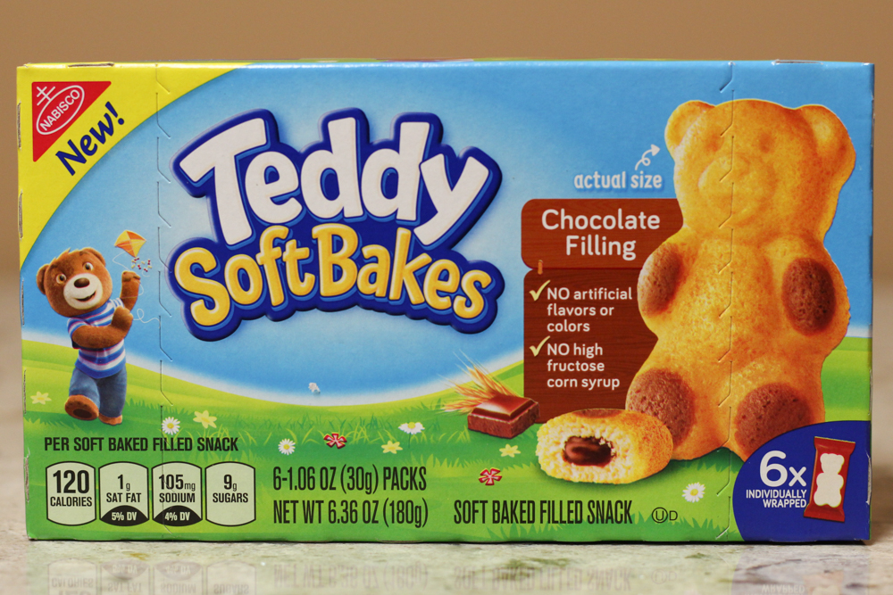 TEDDY SOFT BAKES CHOCOLATE FILLING  6-1.06oz -  $0.65    Compared to $2.98 at Walmart
