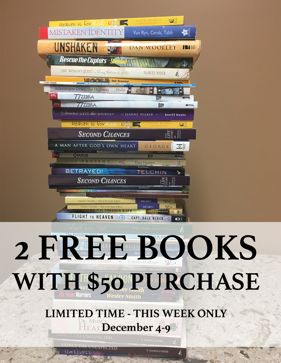 2 FREE BOOKS sign for store.jpg