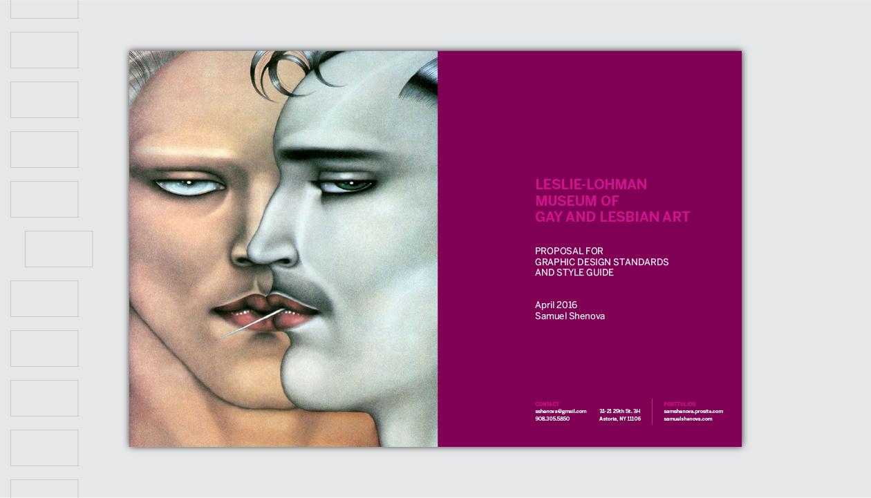 Leslie Lohman Museum Pitch