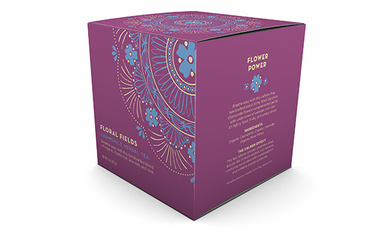 """New packaging for """"Floral Fields"""""""