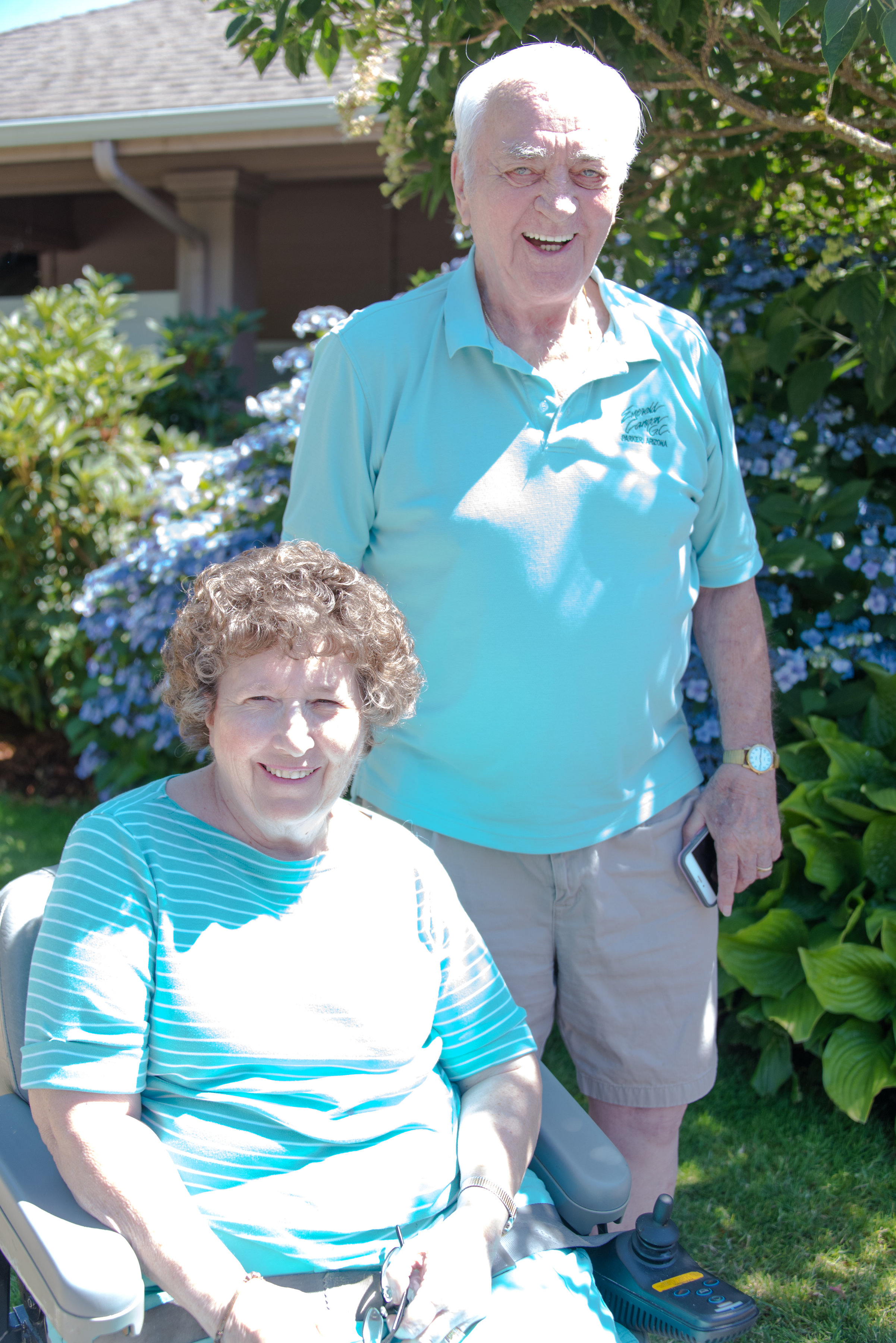 """""""After being in other facilities, Tierra Rose has been the best. The care is better and it is close enough for my husband to visit.""""   -Nancy & Bill Avery"""