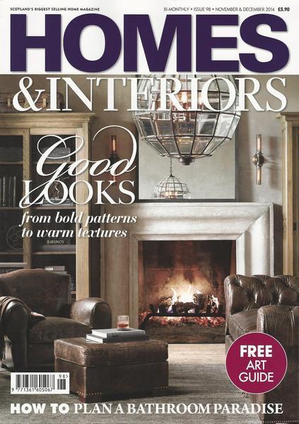 Homes & Interiors Scotland Dec 2014