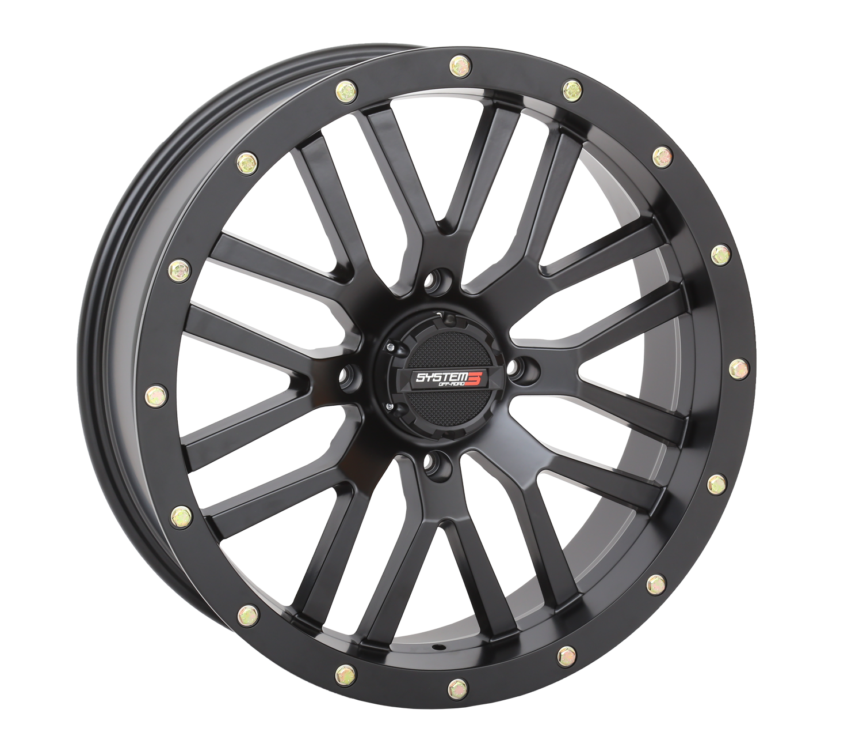 20x6.5 Matte Black ST-3