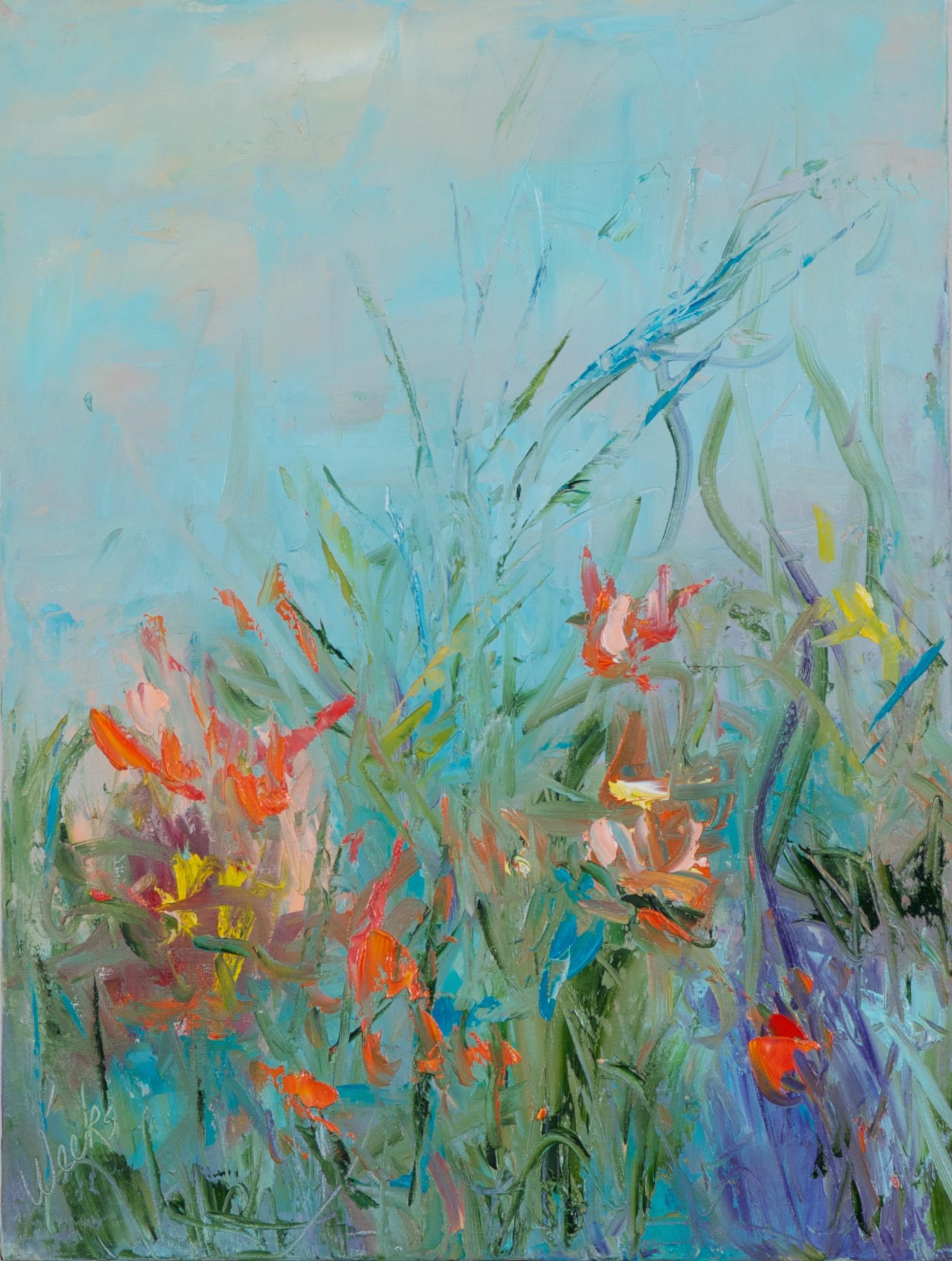 """""""Wildflowers"""" - 12 x 16 inch"""