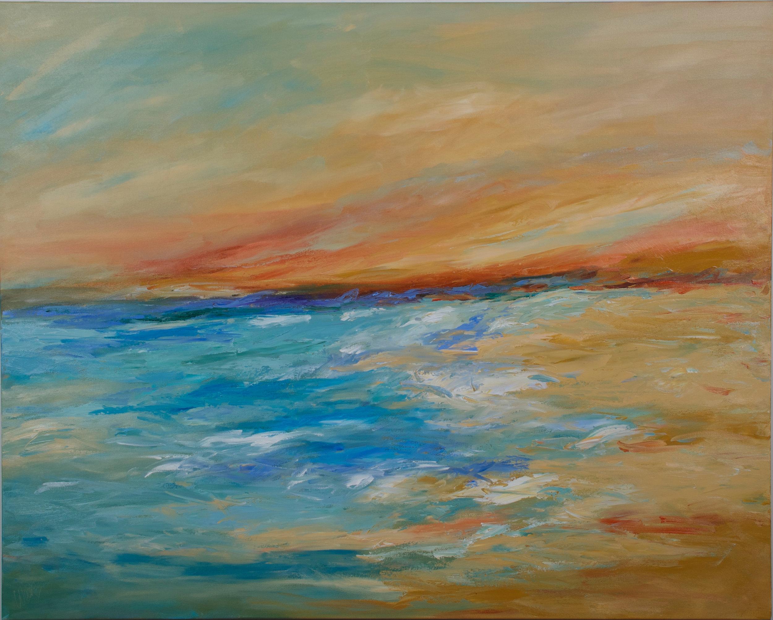 """Going Coastal"" - 48 x 60 inch"