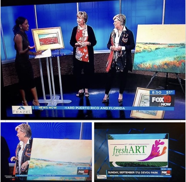 Trish Weeks talking about the Berringer Crawford Museum's on Fox News.