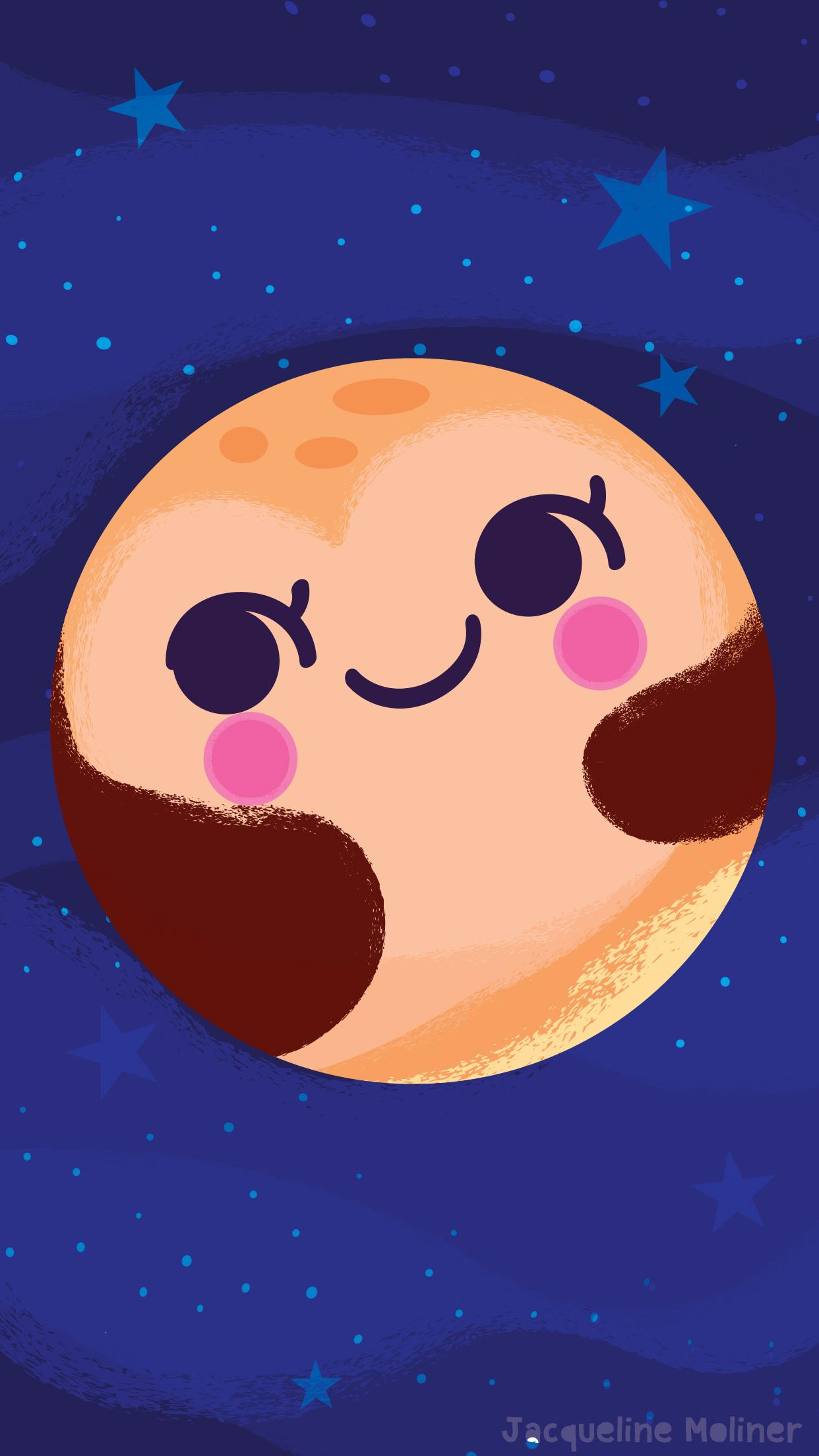Cute Pluto Wallpaper