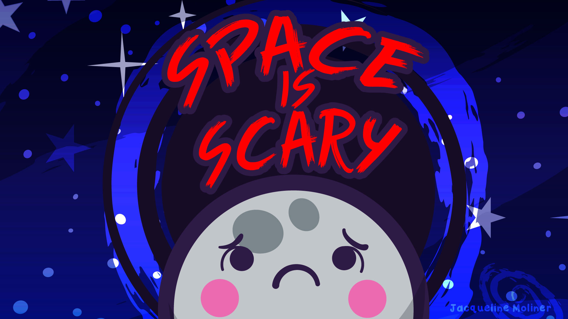 Space is Scary Wallpaper