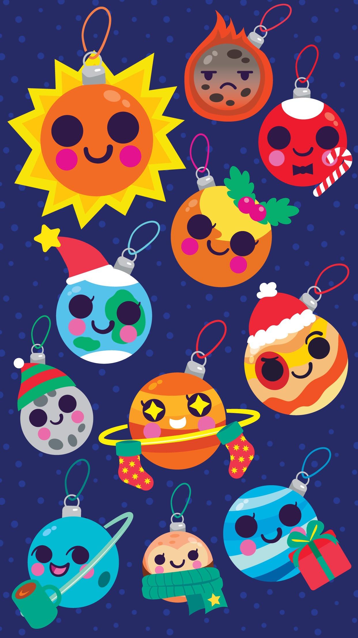 Starry Ornaments Wallpaper