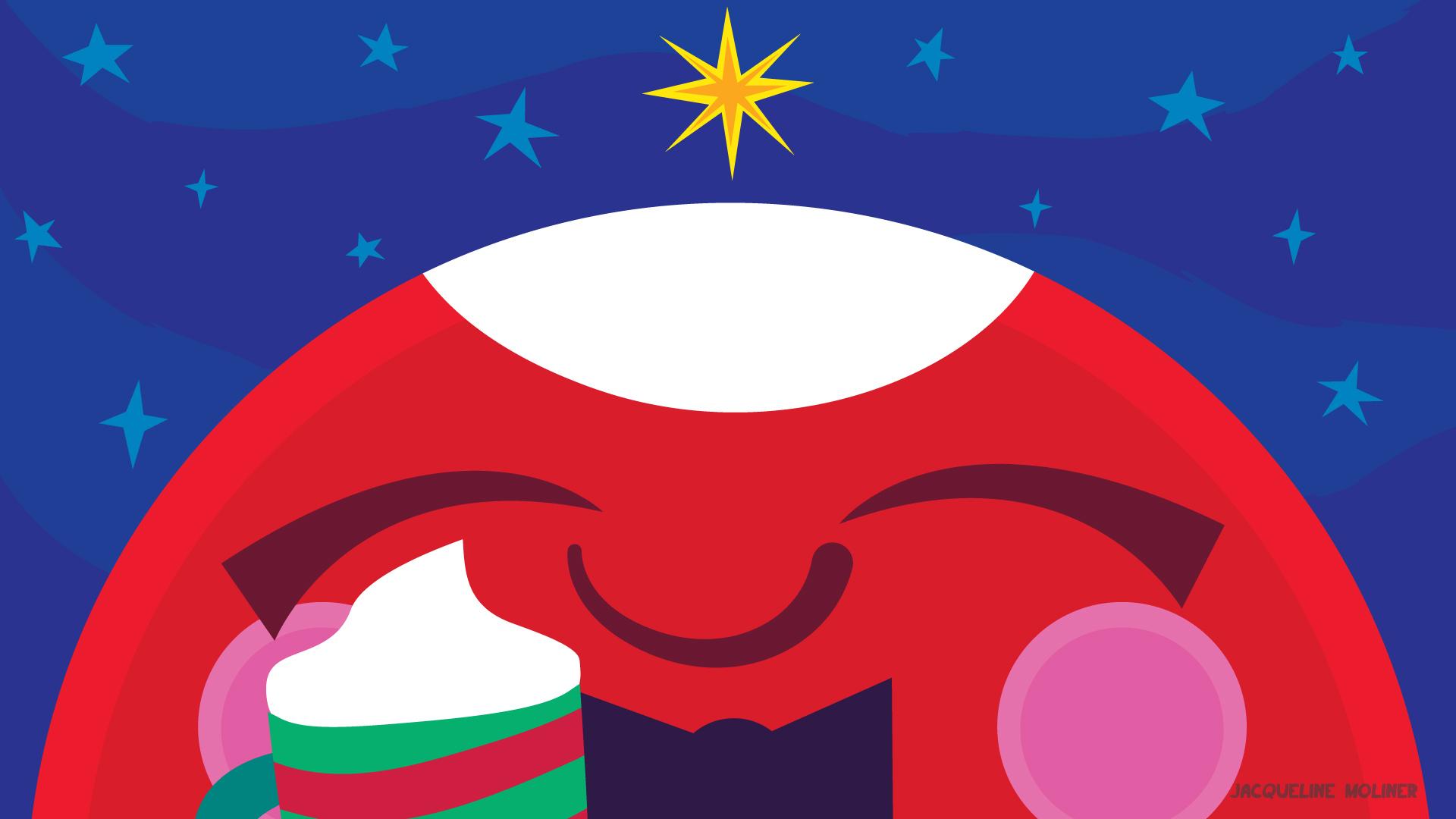 Mars Holiday Wallpaper