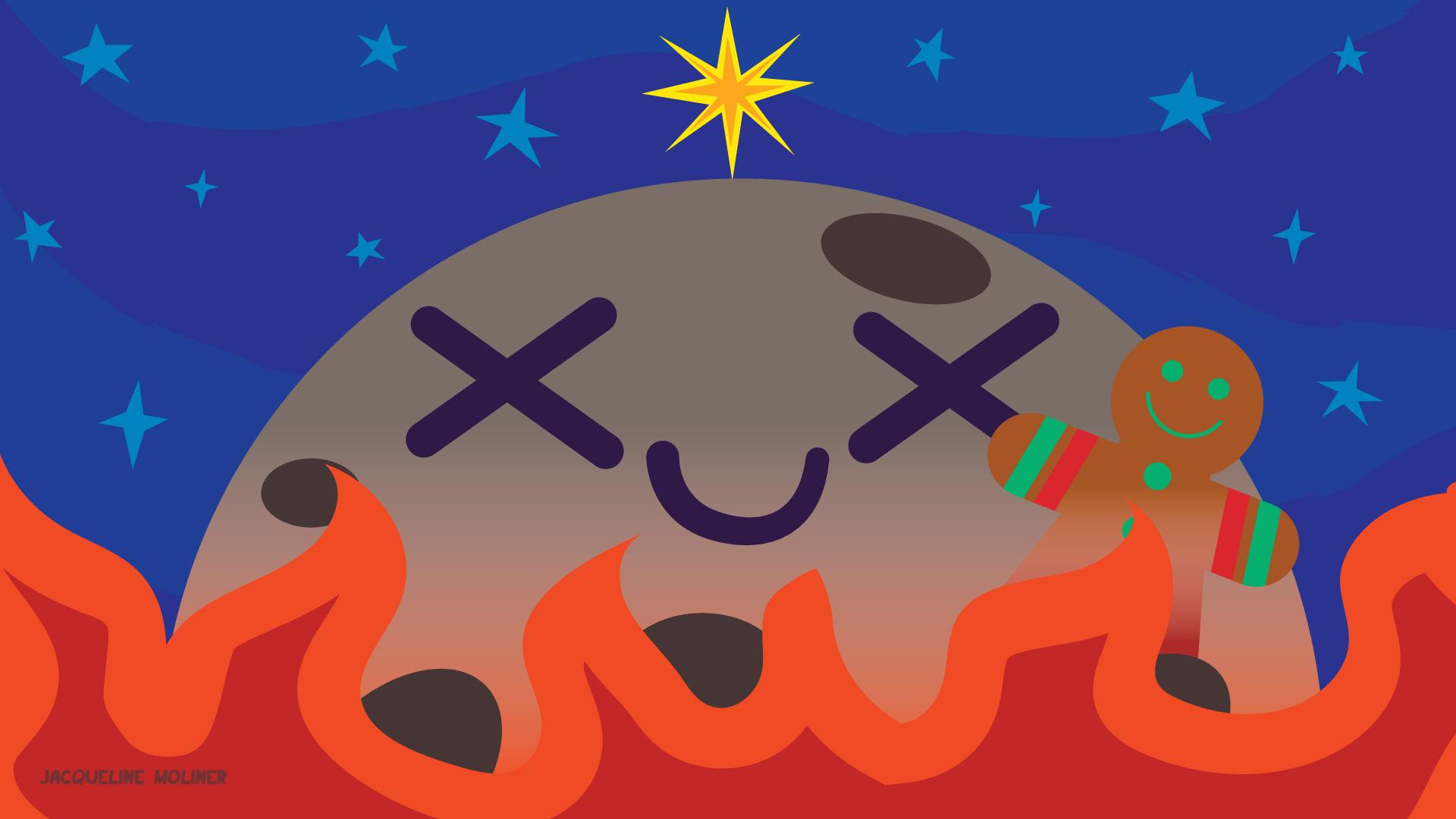 Mercury Holiday Wallpaper