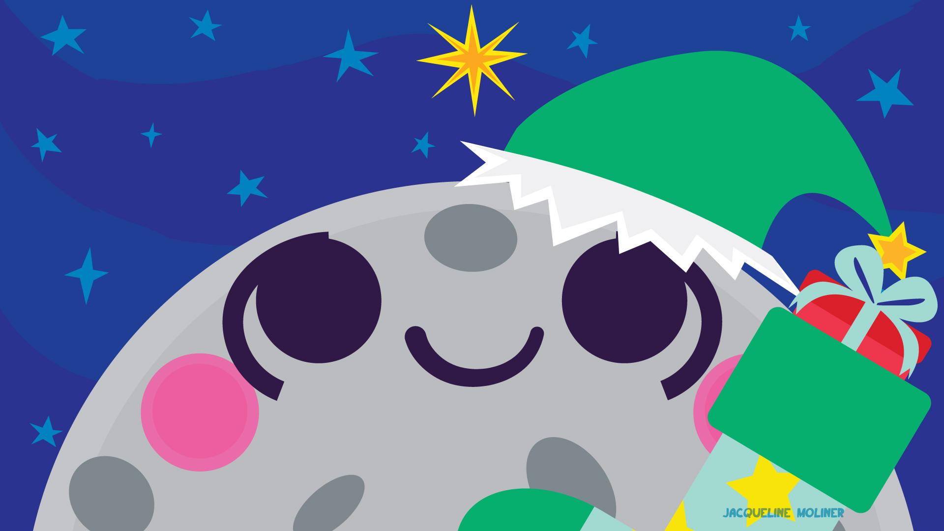 Moon Holiday Wallpaper