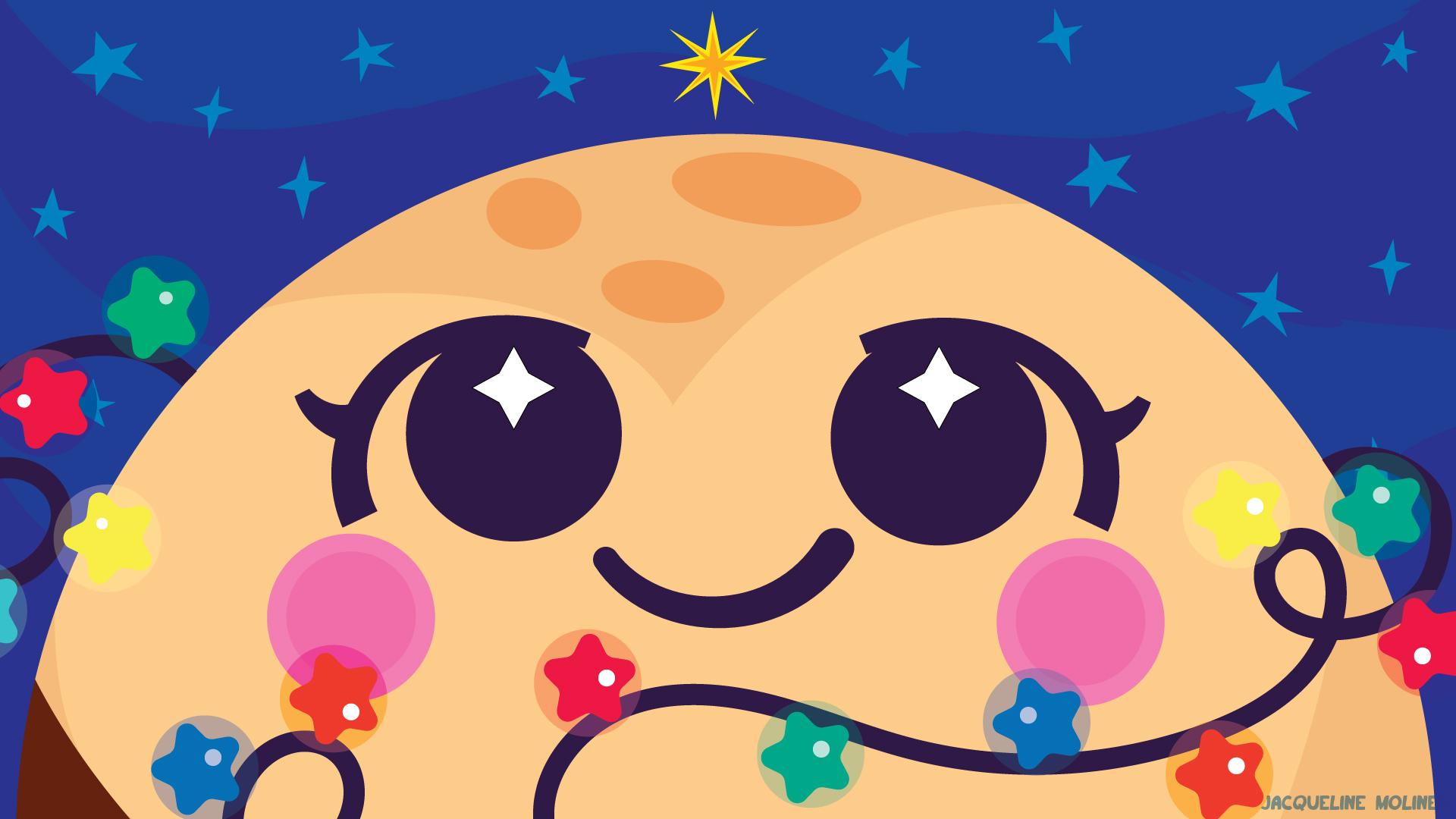 Pluto Holiday Wallpaper